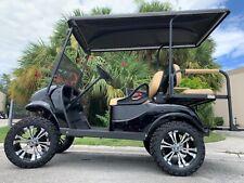 New listing  REFURB BLACK 2017 ezgo 48v txt 4 seat Passenger golf cart alloy rims lifted FAST