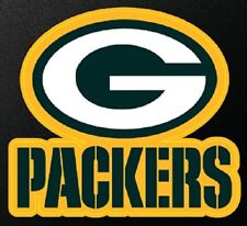 Window Bumper Sticker NFL Football Green Bay Packers NEW