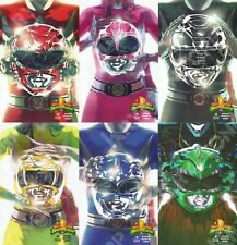 BOOM! Mexico MIGHTY MORPHIN POWER RANGERS #0 RED PINK BLACK YELLOW BLUE Variant