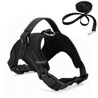 Large Dog Pet NO PULL Adjustable Harness Leash Pet Walk Out Strap Vest Collar