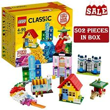 LEGO Classic Large Creative Brick Box Construction Set Colorful Toy Sets for Kid