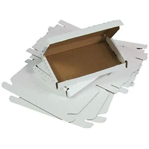 C5 A5 White Large Letter Boxes For Royal Mail Postage To Fit In a Letterbox!