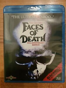 Faces of Death Bluray 30th Anniversary Edition OOP Rare