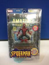 Marvel Spiderman Classics Amazing Fantasy Spiderman Figure Toybiz  NEW