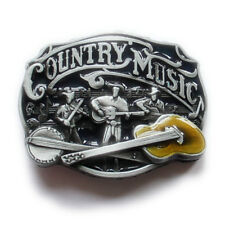 Vintage Country Music Belt Buckle Western Cowboy Native American (CMC-02)