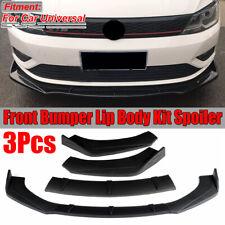 For Volkswagen VW Jetta MK5 MK6.5 MK7 Golf Front Bumper Lip Body Kit Spoiler