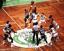 Boston Garden Photo Picture Celtics Lakers Starting Five Bird Johnson Collectibl