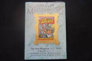 Marvel Masterworks Sub Mariner 215 gold cover  (b8) Hardcover Graphic Novel