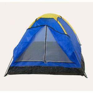 Tenda Da Campeggio Canadese 3 Posti Persone Con Zanzariera Mare Campeggio sus