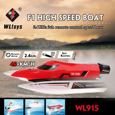 WLtoys WL915 2.4Ghz 2CH Brushless RC F1 Racing Boat 45km/H w/ Water Cooling D6A7