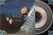 WILLIAM SHELLER LES MILLIONS DE SINGES CD PROMO