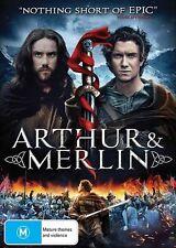 Arthur & And Merlin (DVD, 2017) ACTION [Region 4 Australia] NEW/SEALED