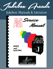 AMI Model J Series Service, Parts Manual, Covers Models 100, 120, 200, 200-M NEW