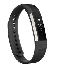 Genuine Fitbit ALTA Fitness Wristband Activity Tracker Black Large