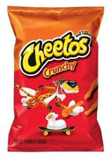 Cheetos Crunchy (4 Pack) Cheese Flavored Snacks 8.5 Ounce Ea