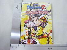 SENGOKU BASARA 2 Card Game Official 1st Guide Book CP *
