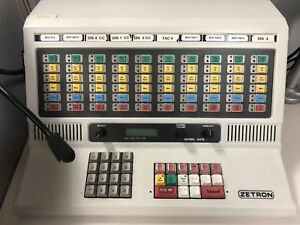 Zetron 4018 Police Fire Radio Dispatch Paging Console Station 901-9351