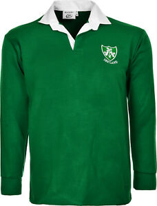 Ireland Rugby Shirt Retro Classic Traditional Irish Top All Sizes S - 5XL