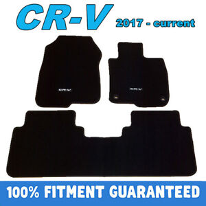 PREMIUM Prestige Carpet Floor Mats for Honda CRV 2017 2018 - 2021 Customized Fit