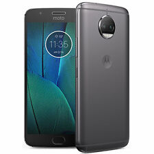Motorola Moto G5S Plus XT1803 32GB Unlocked GSM LTE Dual 13MP Phone - Lunar Gray
