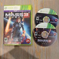 Mass Effect 3 (Microsoft Xbox 360, 2012) - Bioware Complete CIB EA