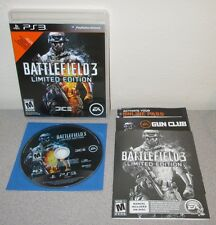 BATTLEFIELD 3 PlayStation 3 Complete w/Manual DICE Shooter Black Label Frostbite