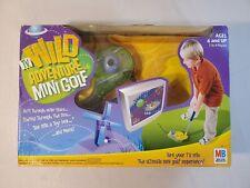 Milton Bradley Wild Adventure TV Mini Golf Game - Plug & Play Interactive - NEW!