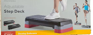 PRO-FORM Adjustable Step Deck New In Box