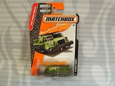 2016  MATCHBOX  #72  = ATTACK TRACK = GREEN   military vehicle