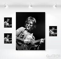 John Lennon - 2 - Quadro stampa su Tela Pelle Canvas Dipinto Arte Moderna