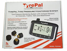 TyrePal TC215B Tyre Pressure Monitoring System TPMS with  2 Sensors