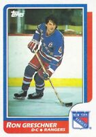 1986-87 Topps Hockey Cards Pick From List