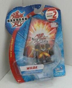 Bakugan Battle Brawlers WILDA con Carta Card - Spin Master