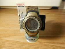 TIMEX T42431 UNISEX EXPEDITION INDIGLO WATER RESISTANT DIGITAL WATCH timepiece