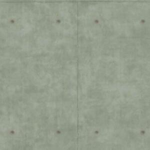 Wallpaper Faux Gray Concrete Block Panel Industrial Looking with Smooth Finish