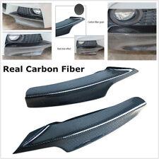 Real Carbon Fiber Front Bumper Splitter Lip Fit For BMW F30 F35 MT/MP Protecter