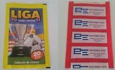 EDICIONES ESTE 1990 / 1991: SOBRE SIN ABRIR, NUEVO, PERFECTO ESTADO LIGA 90 / 91