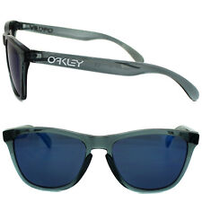 New Oakley FROGSKINS Limited Edition Crystal Black w/Ice Iridium  03-292