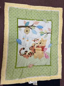 Disney Baby Pooh And Friends 3 Piece Crib Bedding Set Winnie The Pooh Comforter