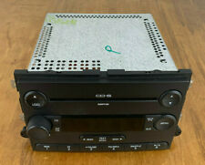Ford OEM 6 Disc CD Changer Radio MP3 Player Dash Double-Din AUX Plug And Play