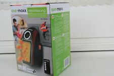 EASYmaxx elektrische Mini-Heizung 500W Schwarz/Rot Timer Display Wärme NEU