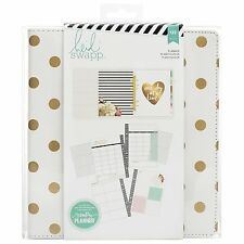 *NEW*  Heidi Swapp Large Memory Planner-Gold Foil Dots 718813125970