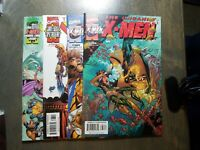 The Uncanny X-Men 4 book lot #381,383,384,386 (2000) Marvel comics~NM Unread