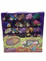 FlipaZoo Mini Collectors Case With 2 Special Edition Flipazoos Minis SEALED NEW