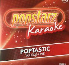Popstarz Cd Graphics Karaoke Poptastic Volume One Latest Hits Cd-G