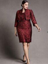 ISABEL TOLEDO Woman's Rose Jacquard Bustier Dress Lane Bryant 12 Large Bridal
