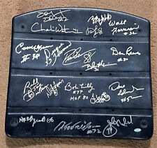 Dallas Champions Signed Seat Reeves Pearson Lilly Thomas Too Tall Jones 18 Sigs