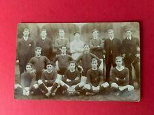 Vintage Postcard West Wycombe United Football team 1901-1902  Bucks R/P