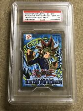 PSA 10 Yugioh Legend of Blue Eyes White Dragon 1st Edition LOB Booster Pack