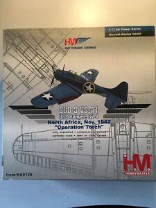 """HOBBY MASTER HA0126 1:72 SBD-3 VS-41 USS RANGER, CV4, 1942 """"OPERATION TORCH"""""""